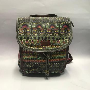 Best Selling Fashion Retro Canvas Backpack For Girls
