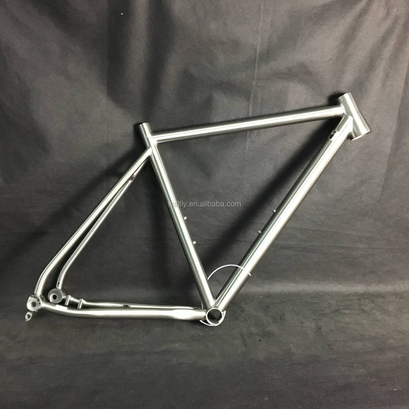 700c titanium bike frame disc road for internal cable routing