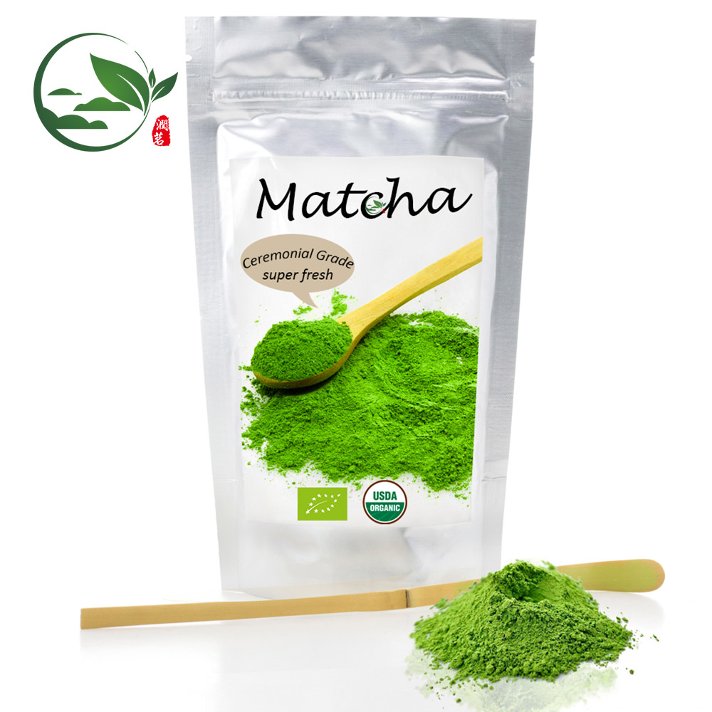RunganicT Thee Fabrikant Groothandel Stone Mill USDA Instant Groene Thee Blad Extract Matcha Thee