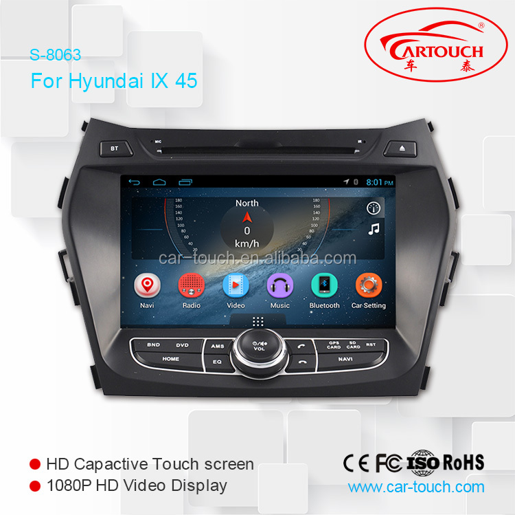 car dvd gps system for Hyundai SANTA FE / HYUNDAI IX 45 with dvd play WiFI/TPMS/3G/Mirrorlink