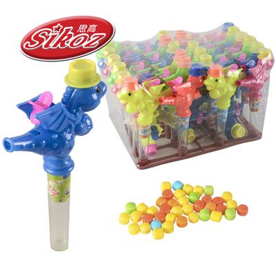 حلوى صغيرة من الفاكهة الصلبة حلوى حلوى الكرة في زجاجة