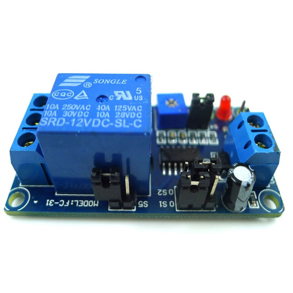 Cheap Audio Delay Circuit Find Deals On Line At Analog Get Quotations Geri Adjustable 12v Normally Closed Type Trigger Relay Module