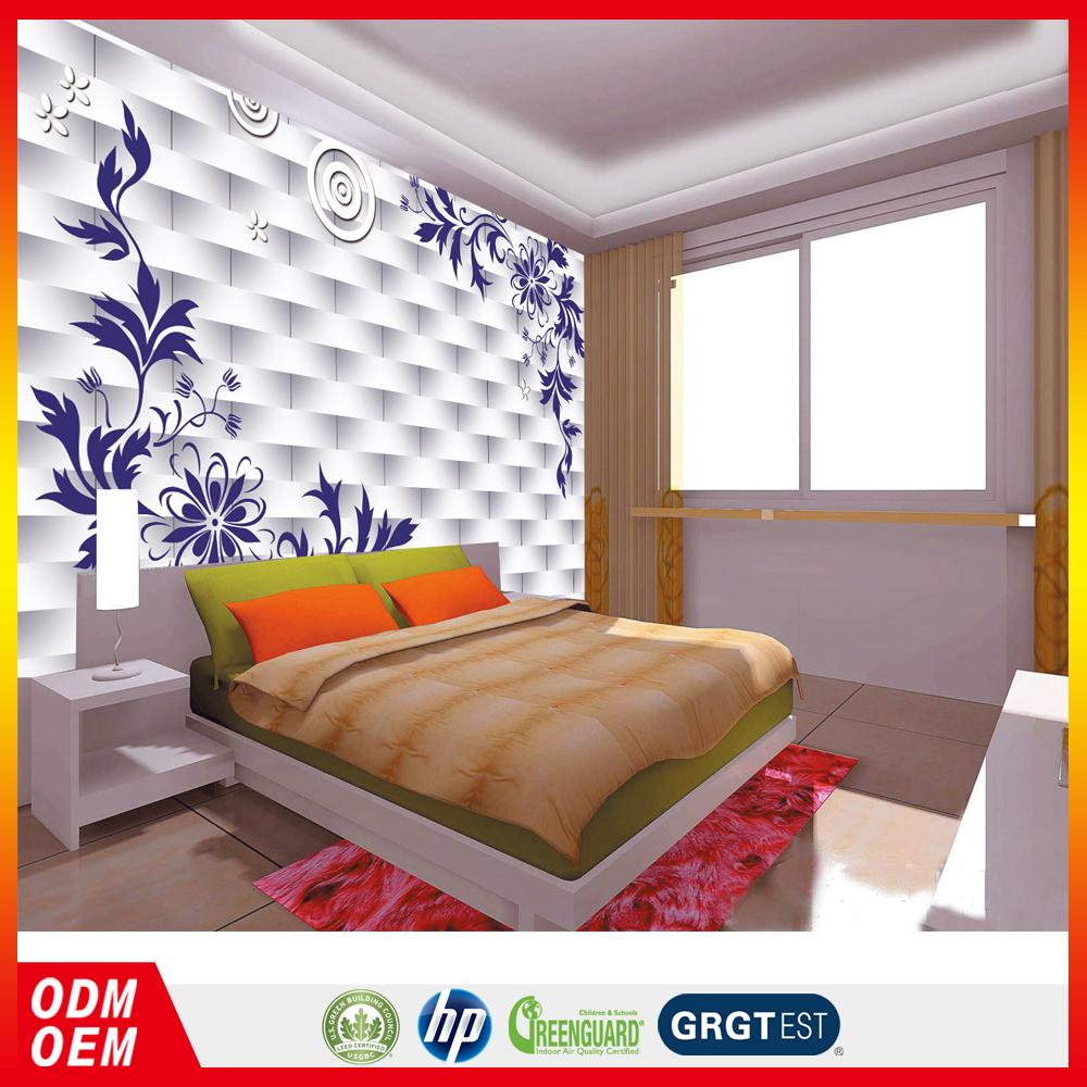 3d baksteen ontwerp tekening kamer behang heldere kleur for Behang kamer