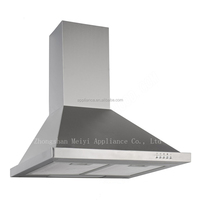Hot selling 3 speed Exhaust Range hood