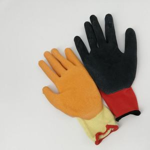 High Quality Heat Resistant Kitchen Cooking Cotton Food Grade Rubber Glove