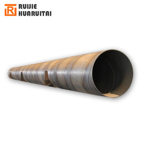 SSAW welding steel pipe, Double side spiral welding steel pipes, Q345 B big size carbon steel line pipes 1200mm OD
