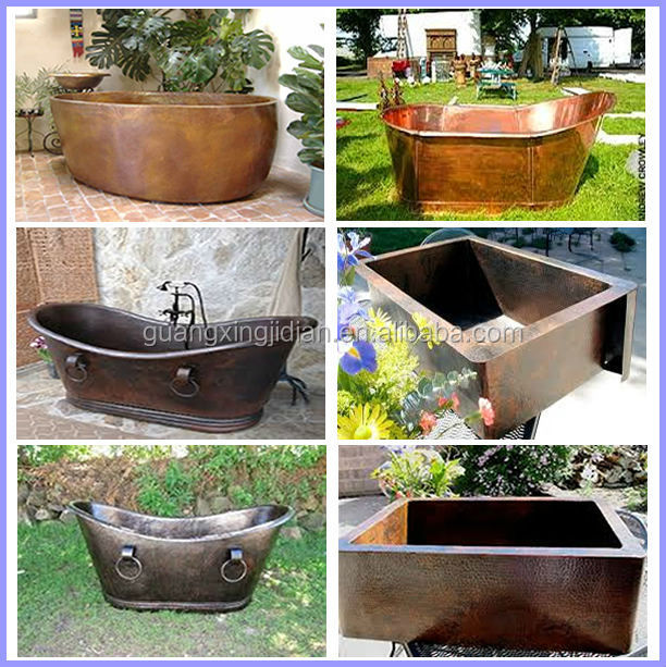 Cheap copper bathtubs for sale buy copper bathtub cheap for Discount bathtubs for sale