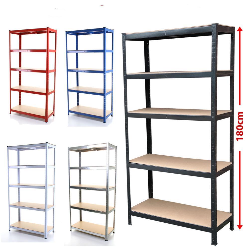 5 層調節可能な金属棚ヘビーデューティー boltless 棚と収納ラック