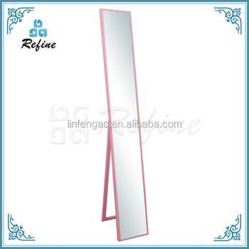 Pink Leaner Mirror Tall Floor Standing 22cm 152cm