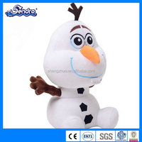 frozen snowman girl's beautiful dream plush toys for games