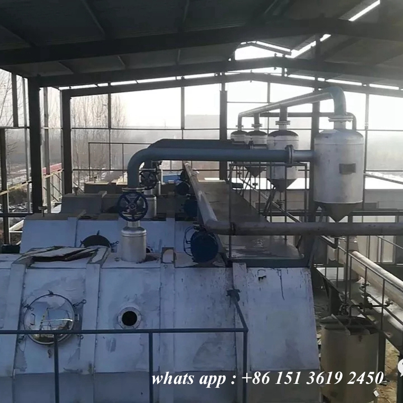Pork lard processing line