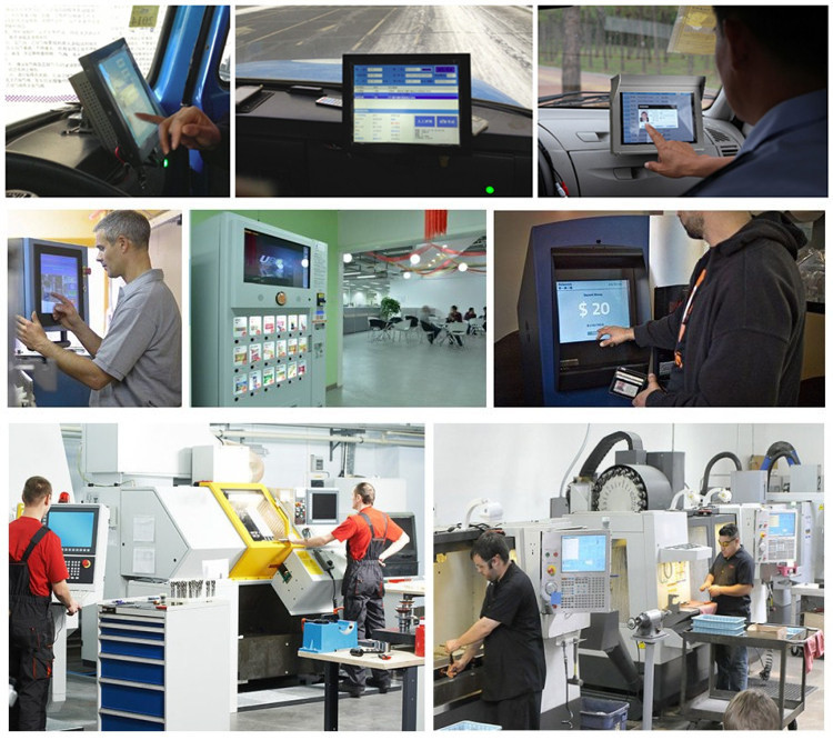 New Computer Software Technology 17inch Industrial Panel Pc With 5 ...
