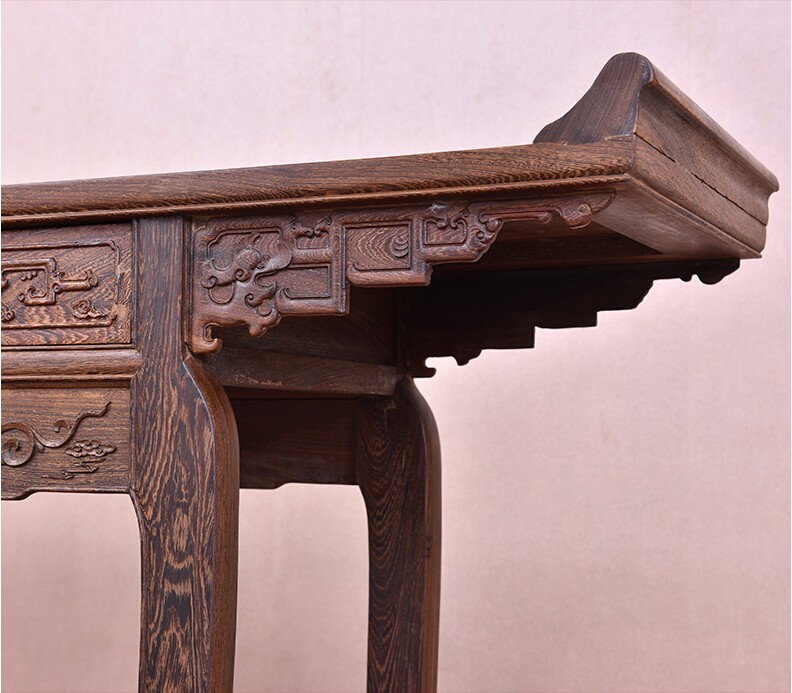 Buddhist Altars For Sale: Ming & Qing Style Mahogany Solid Wood Buddha Altar With