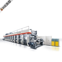 TY series single color small flexo printing machine for PE film paper packing bag printer