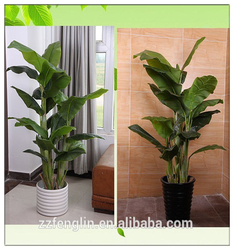 1.5 m artificial banana tree plant artificial indoor plants supplier
