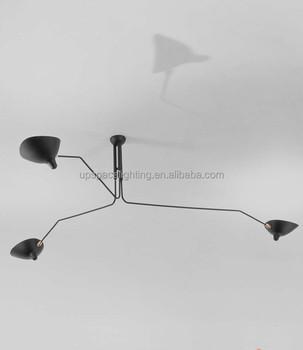 xcc3621-3) Modern Serge Mouille Ceiling Lamp Australian Standards ...