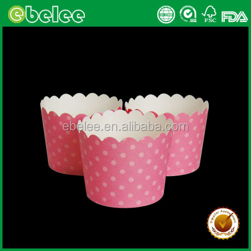 disposable cup cake paper