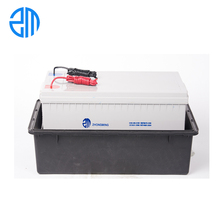 Plastic waterproof underground ip67 12v 200Ah battery box