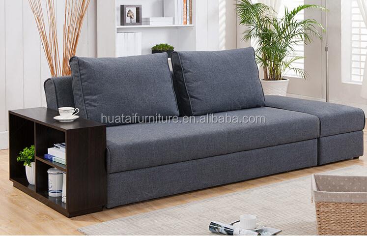 tela multifuncional sof cama sof del sal n marco de madera sof cama con almacenaje buy. Black Bedroom Furniture Sets. Home Design Ideas