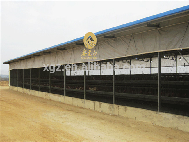 one stop service prefab cheap chicken broiler cages