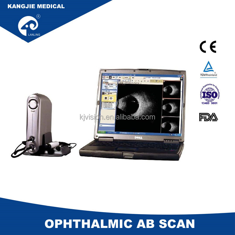 AB Scan KJ-2100AB Ophthalmic AB scan with CE USB connect with computer