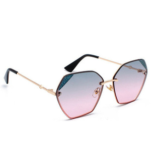 ATB05 2019 Slim Hexagonal Sunglasses Offered By Custom Manufacturer Colorful Lens High Quality CE