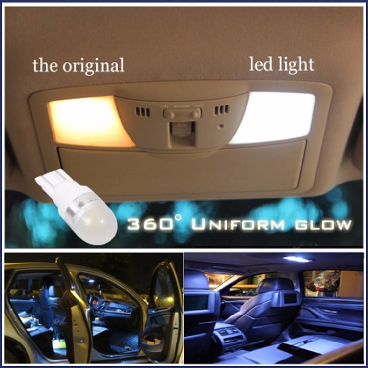 12v T10 Led Car Light,194 5w5 Free Led Interior Light Dome T10 Led ...