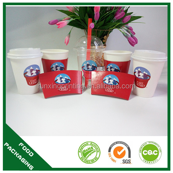 paper sleeve packaging ice cream paper cone sleeve sleeve paper