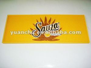 Brand new promotional soft pvc bar mat/pvc bar mat