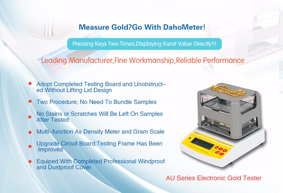 2 Years Warranty ! ! ! Digital Electronic Gold Tester , Gold Purity Detector