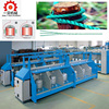 Trade assurance High speed tfo doubling twister two for one ring spinning twisting machine