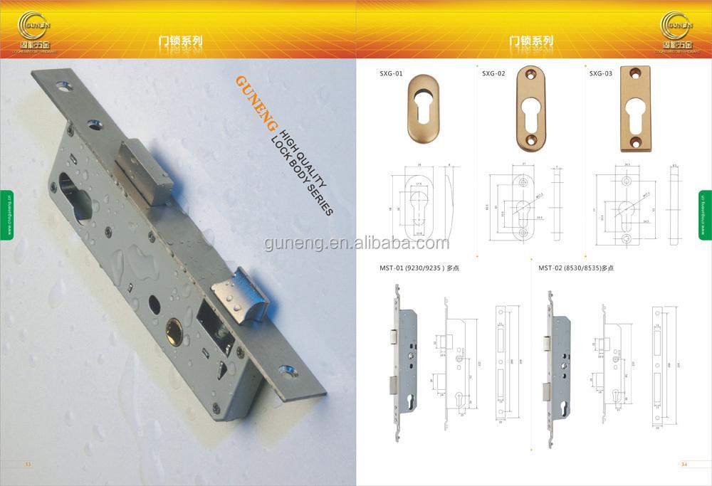 German high kale security type wooden door mortise lock, View ...
