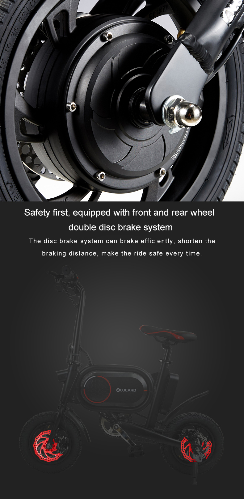 2020 New electric bicycle foldable 12 Inch 350W electric bike