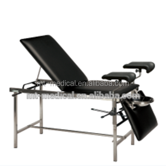 Hospital Manual Operating Room Instrument Obstetric Examination Table