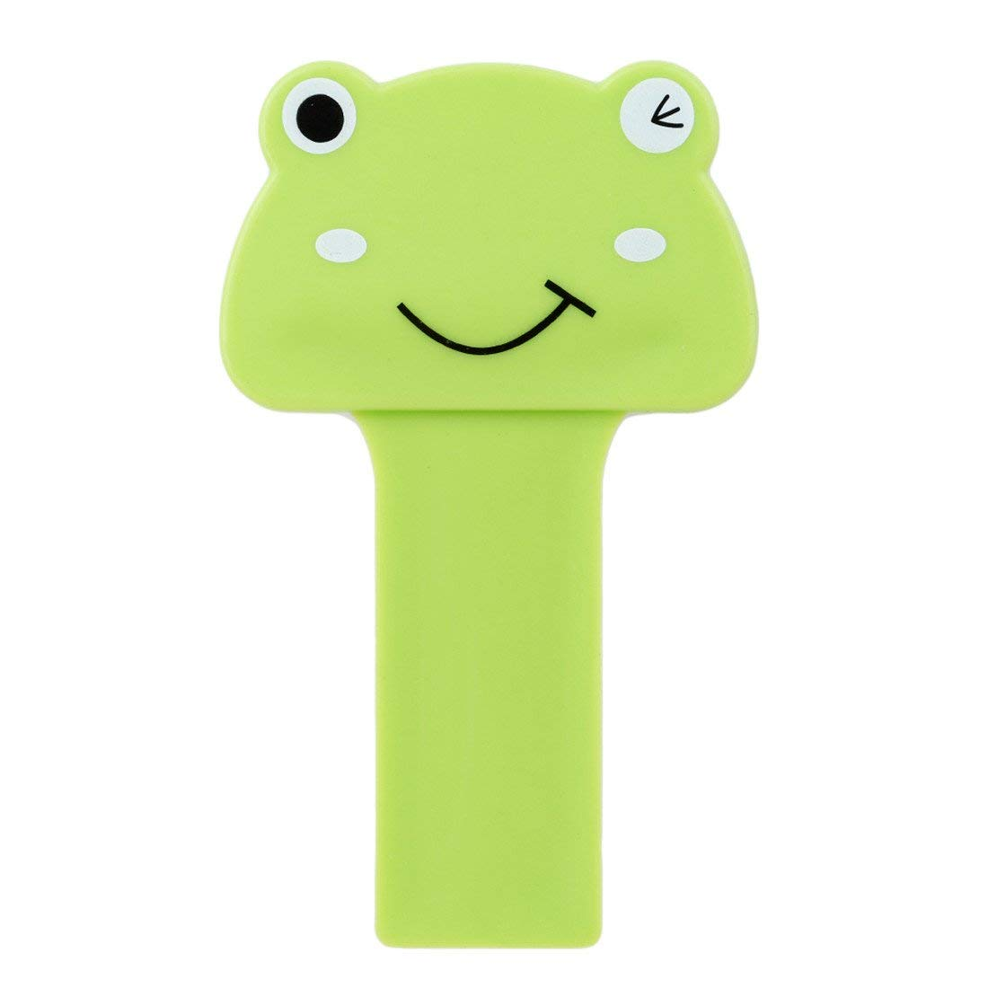 VWH Cute Cartoon Toilet Lifting Device Bathroom Toilet Lid Portable Handle Bathroom Toilet Seat Accessories (green)