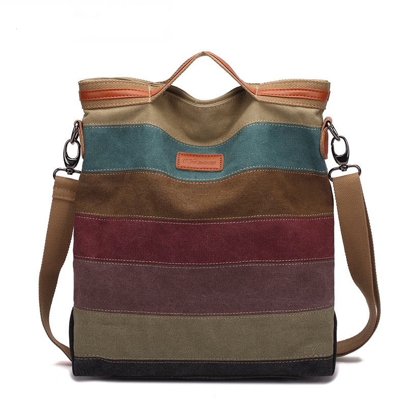 Hot Colorful Women Messenger Bags Handbags Women Famous Brands High Quality Shoulder Bags Ladies Canvas Tote Bag Free Shipping