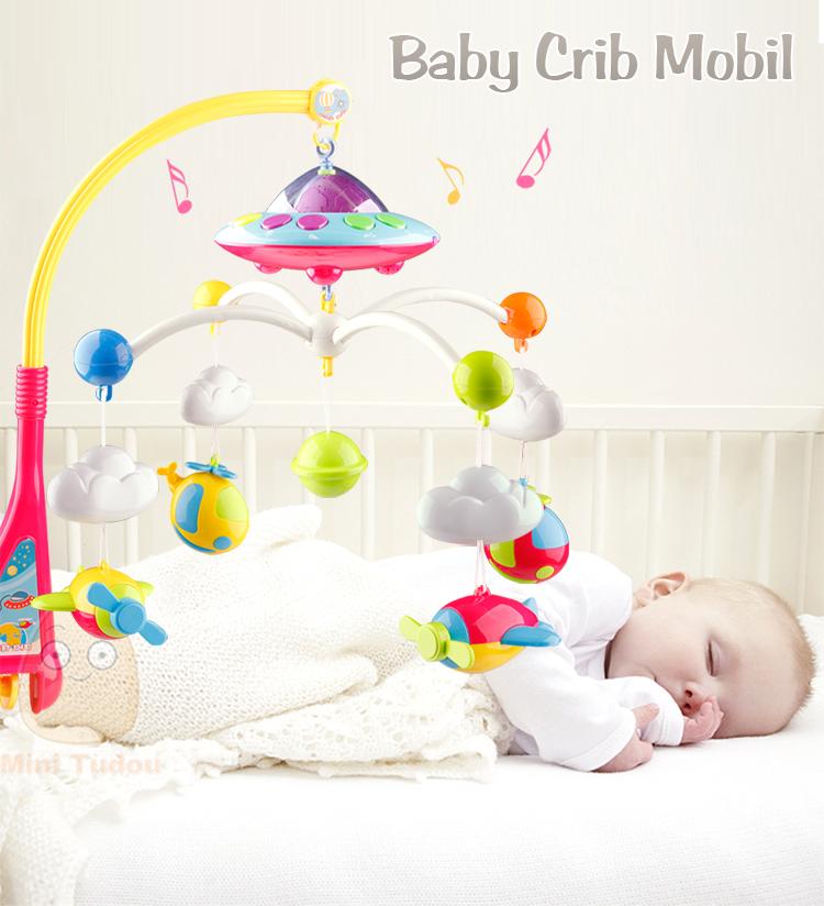 Bebé rattles crib móviles juguete cama campana cochecito