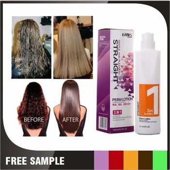 Prodotti per lisciare i capelli permanente