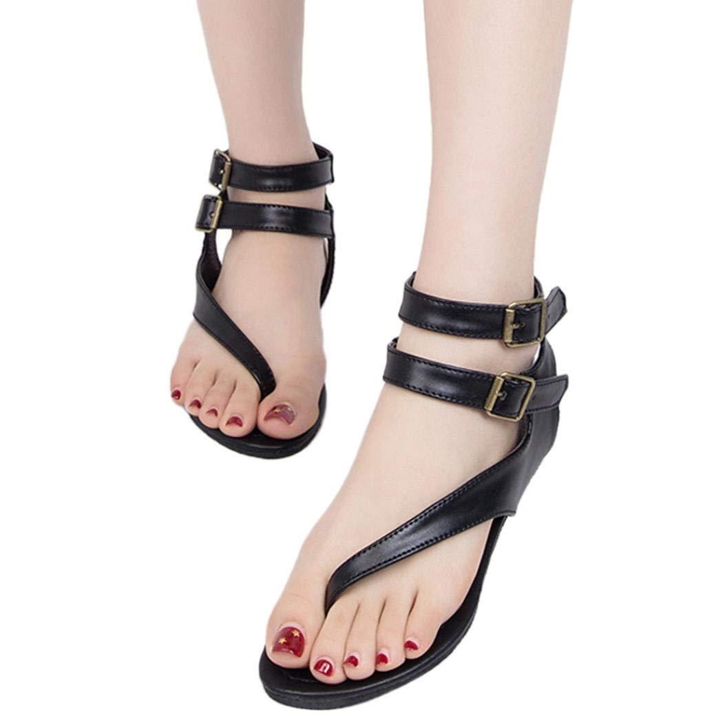 Get Quotations · Gyoume Flat Shoes Sandals 0ee4778d65c