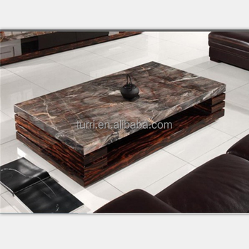 Modern Nature Marble Living Room Coffee Table Center