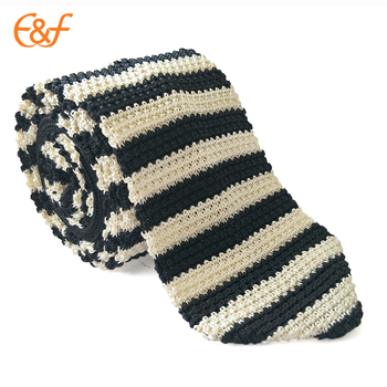 Classical Style Mens Stripe Knitted Cravat Ties Pattern Buy Cravat