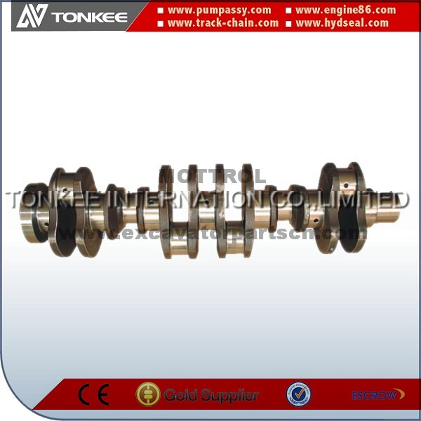 3306 Crankshaft 3306 engine parts for hydraulic excavator
