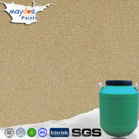 Water based Sand texture spray paint designs for bedroom