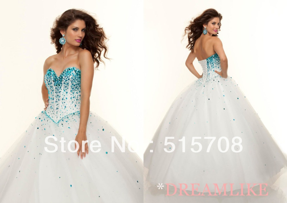 Cheap Big Puffy White Quinceanera Dresses, find Big Puffy White ...