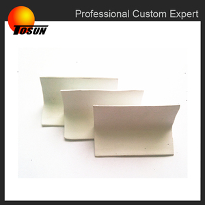 white abrasion resistant rubber edge guard, sharp edge rubber, table rubber edging