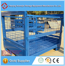 Warehouse Heavy Duty Folding Steel Wire Mesh Pallet Cage
