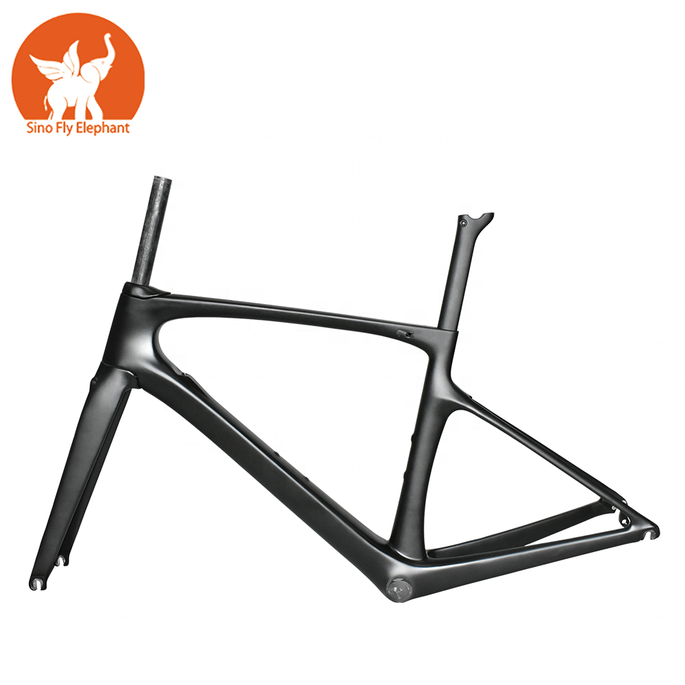 private label MOQ 1pc OEM custom new full <strong>carbon</strong> fiber <strong>road</strong> bike bicycle <strong>frame</strong>