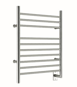 hard wire towel warming rack CE UL Approved straight stainless steel electric heated