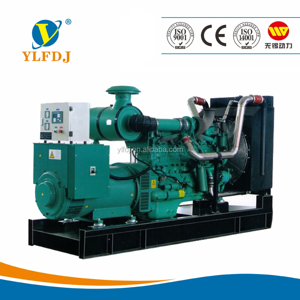 China wuxi power engine 190kva water cooled Diesel generators