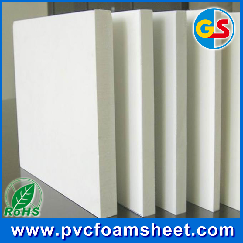 18mm pvc board/thick pvc board for furniture/cabinetry board